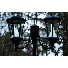 "Solar 6 Light 90"" Post Lantern Set"