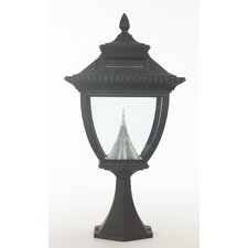 Pagoda 1 Light Solar Post Lantern