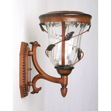 Flora Six-LED Solar Light Fixture on Wall Sconce
