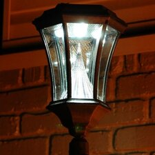 Victorian 6 Light Solar Post Lantern