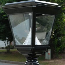 Imperial 8 Light Solar Post Lantern