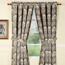 Daphne Lagoon Rod Pocket Curtain Single Panel