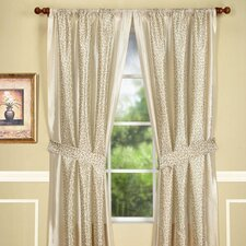 Maxton Rod Pocket Curtain Single Panel