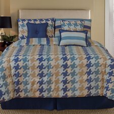 Palmetto Print Works Pixel 7 Piece Comforter Set