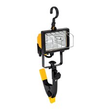 1 Light Portable Halogen Work Light