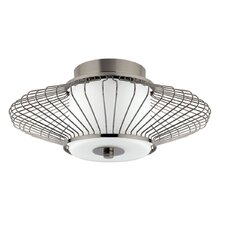 Decor 2 Light Semi-Flush Mount