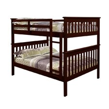 Full Bunk Bed with Attached Ladder