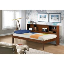 <strong>Donco Kids</strong> Cherokee Twin Slat Bed with Bookcase