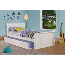 <strong>Donco Kids</strong> Sleigh Bed with Twin Trundle