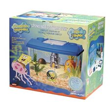 <strong>Penn Plax</strong> Nickelodeon SpongeBob SquarePants Square Tank Aquarium Kit