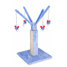 Play Tree Carpet Scratching Post in Blue