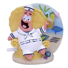 Nickelodeon SpongeBob SquarePants Patrick in Tiki Lounge Chair Ornament