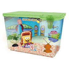 <strong>Penn Plax</strong> Nickelodeon SpongeBob SquarePants New Living Room Aquarium Kit