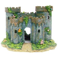Medieval Castle of France Aquarium Decoration