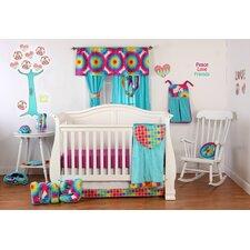 Terrific Tie Dye Infant 3 Piece Crib Bedding Set