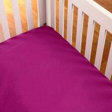 Terrific Tie Dye Solid Crib Sheet