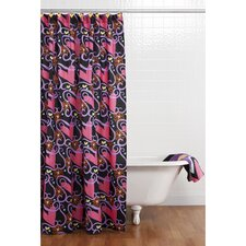 Sassy Shaylee Cotton Shower Curtain