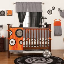 Teyo's Tires 10 Piece Crib Bedding Set
