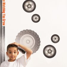 Teyo's Tires Wall Decal