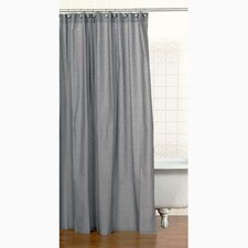 Teyo's Tires Cotton Shower Curtain