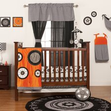Teyo's Tires 3 Piece Crib Bedding Collection
