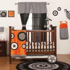 Teyo's Tires 3 Piece Crib Bedding Collection