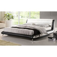 Nizza Genuine Leather Bed Frame