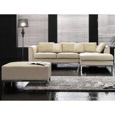 Oslo Leather Sofa Set