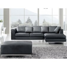 Oslo Leather Sofa Set