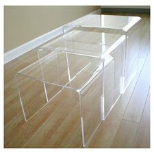 <strong>Wholesale Interiors</strong> Mercutio 3 Piece Nesting Tables