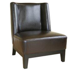 <strong>Wholesale Interiors</strong> Cloten Leather Chair