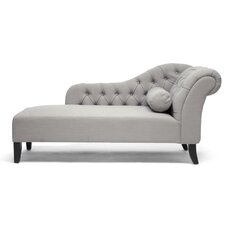 <strong>Wholesale Interiors</strong> Baxton Studio Aphrodite Tufted Chaise Lounge