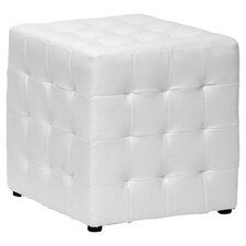 Baxton Studio Siskal Modern Cube Ottoman (Set of 2)