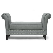 Baxton Studio Marsha Upholstered Bedroom Bench