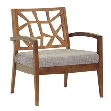 Baxton Studio Jennifer Twill Arm Chair