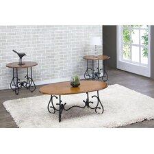 Calais 3 Piece Coffee Table Set