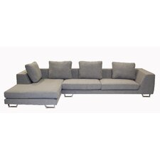 <strong>Wholesale Interiors</strong> Tybalt Twill Sectional