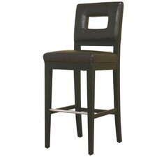 Meiji Leather Barstool in Brown