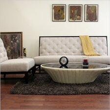 Baxton Studio Bristol Tufted Linen Modern Sofa Set