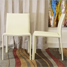 Baxton Studio Crawford Side Chair (Set of 2)
