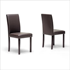Baxton Studio Susan Parsons Chair (Set of 2)