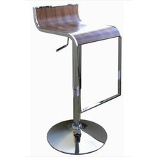 <strong>Wholesale Interiors</strong> Swivel Dromio Bar Stool with Cushion