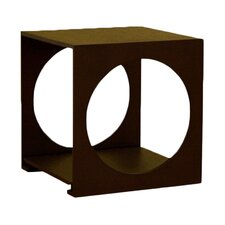 <strong>Wholesale Interiors</strong> Cognac Cube End Table