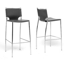 "Baxton Studio Montclare Modern 29.25"" Bar Stool (Set of 2)"