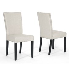 <strong>Wholesale Interiors</strong> Baxton Studio Harrowgate Parsons Chair (Set of 2)