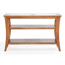 Baxton Studio Allison Honey Wood Modern Console Table