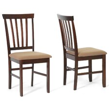 Baxton Studio Tiffany Side Chair (Set of 2)