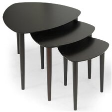 <strong>Wholesale Interiors</strong> Griffith 3 Piece Nesting Tables