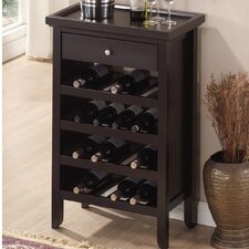 <strong>Wholesale Interiors</strong> Baxton Studio 16 Bottle Wine Cabinet