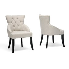 <strong>Wholesale Interiors</strong> Baxton Studio Halifax Arm Chair (Set of 2)